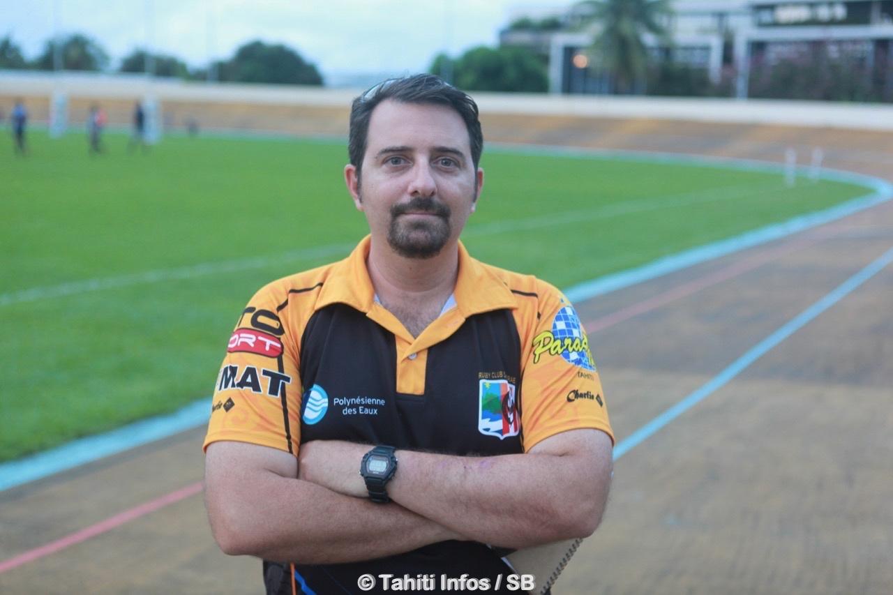 Teiki Dubois, manager de Pirae et membre de la FPR