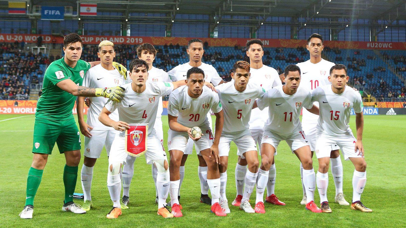 La sélection de Tahiti U20 n'a pas démérité malgré une nouvelle défaite sévère contre la Colombie