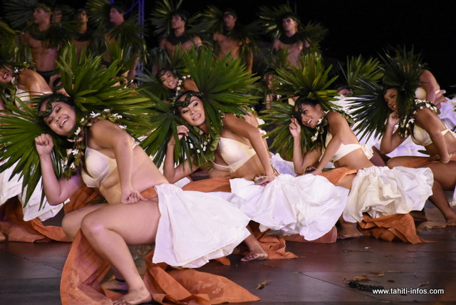 L'an dernier, les tribunes de To'atā affichaient complet lors du passage de la troupe Ori i Tahiti.