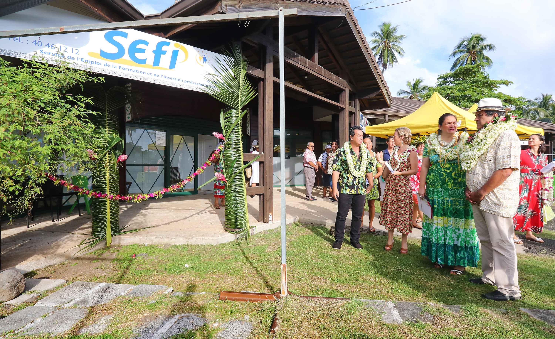 Une nouvelle antenne du Sefi inaugurée à Moorea