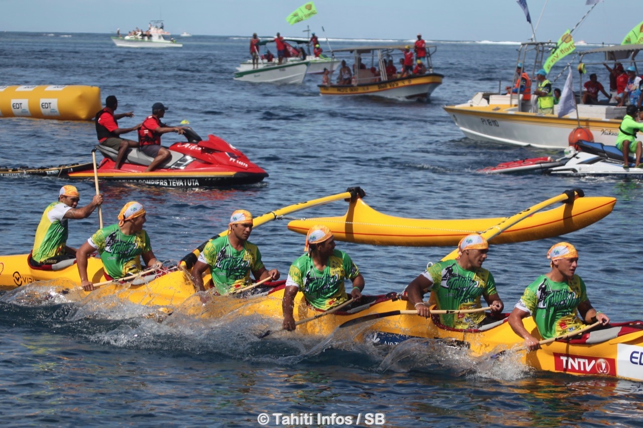 Comme en 2017, Shell Va'a s'offre un grand chelem sur la Tahiiti Nui Va'a