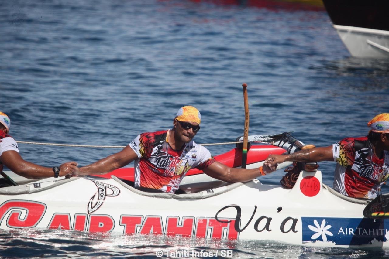 Air Tahiti Va'a s'est associée avec Tamari'i Cps et s'offre une belle deuxième place au général