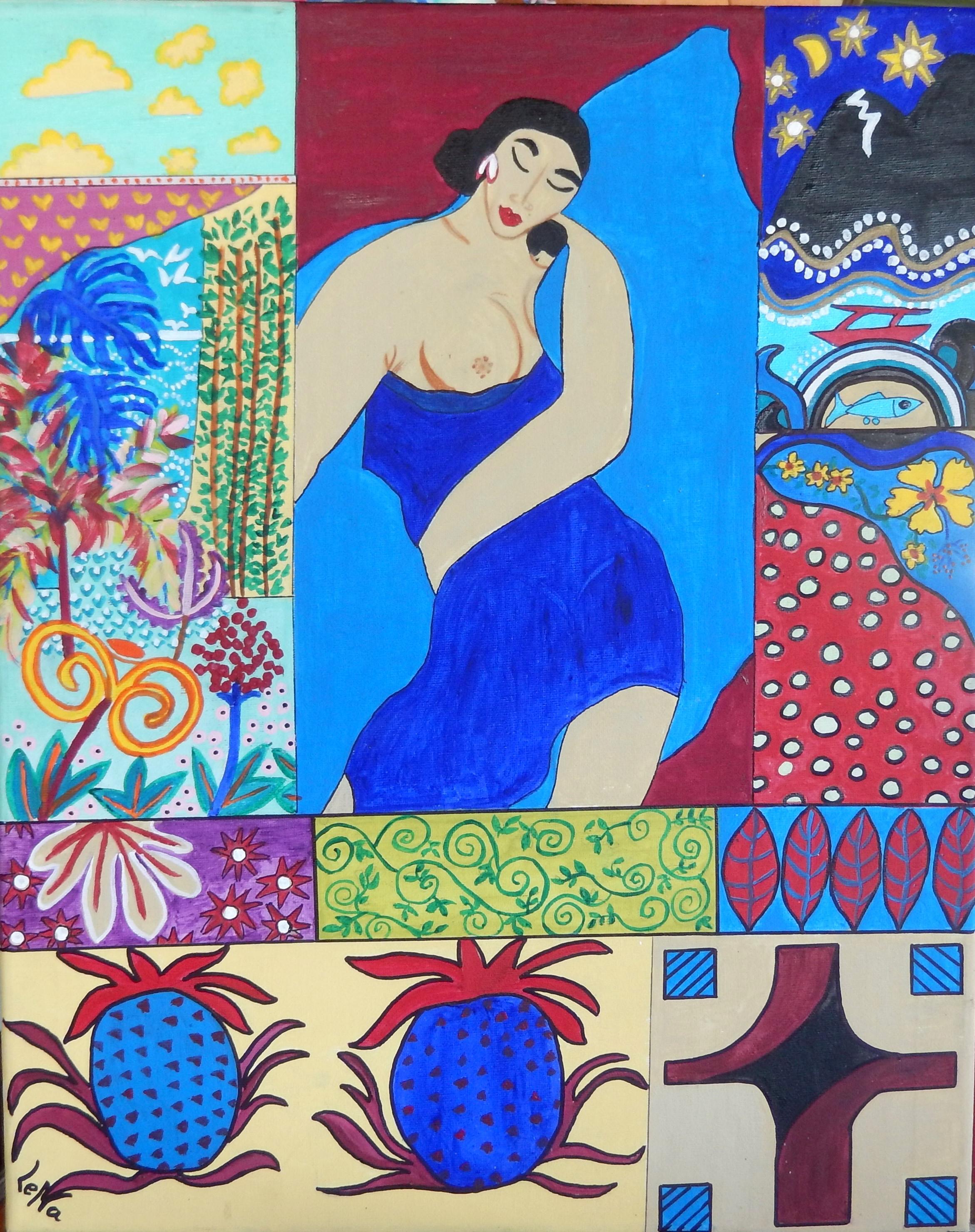 LeNa, fascinée par les couleurs, expose ses dernières créations