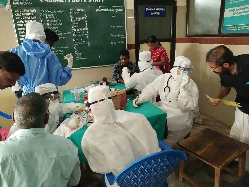 Inde: un cas de virus Nipah détecté