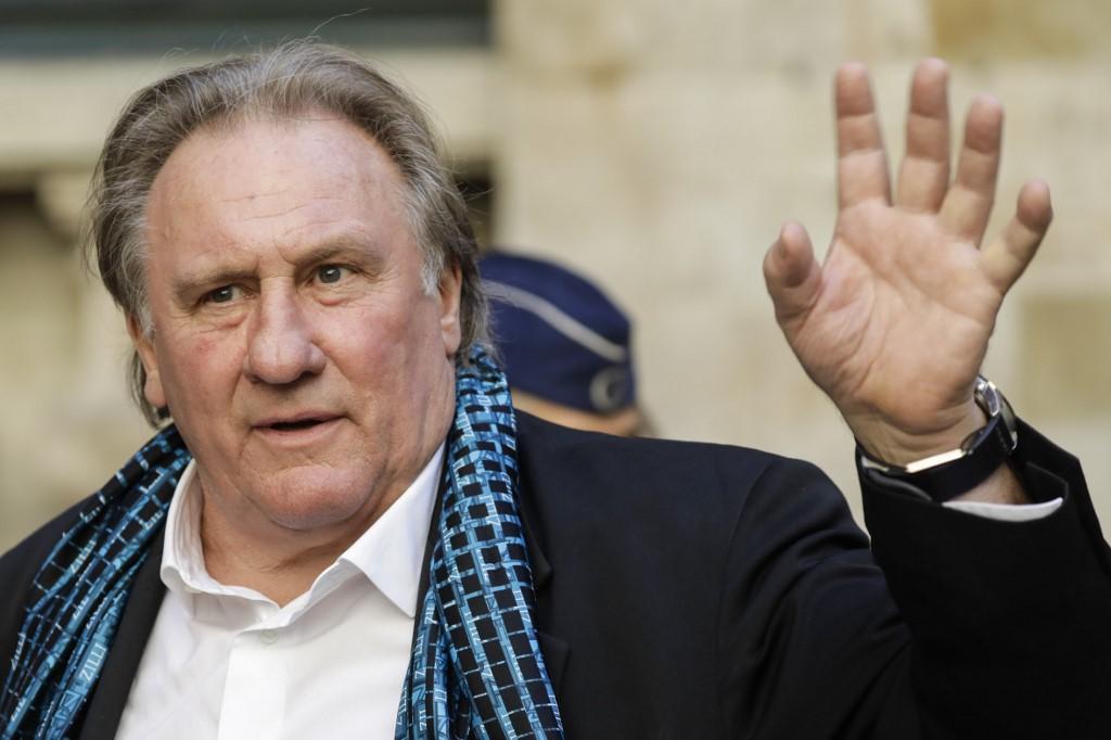 L'enquête pour viols et agressions sexuelles visant Depardieu classée sans suite
