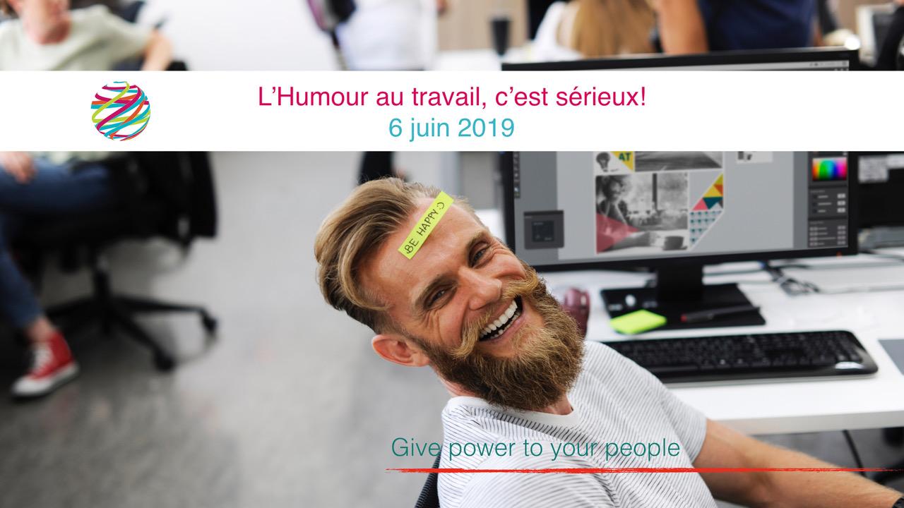 Conférence : L'humour au travail c'est sérieux !