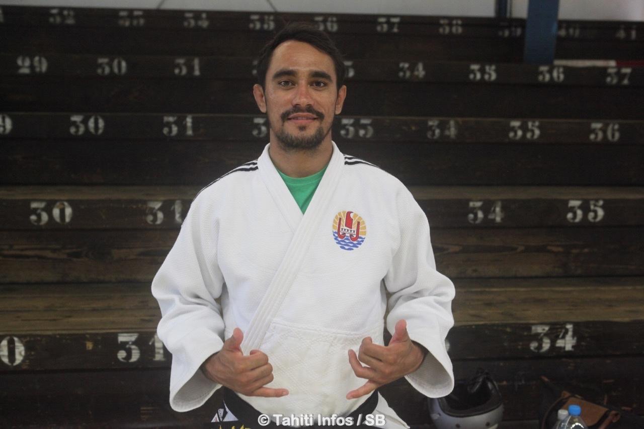 Gaston Lafon, médaillé d'argent en -73 kg