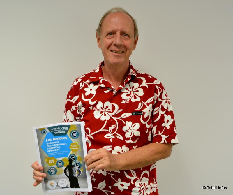 Patrick Fincker, co-président de l'Institut Économique de Tahiti
