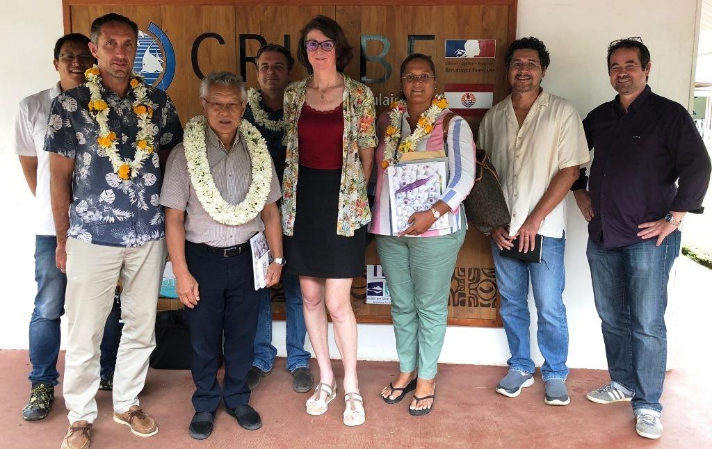 La commune de Bora Bora et le Criobe s'unissent pour le bien du lagon de la Perle du Pacifique.