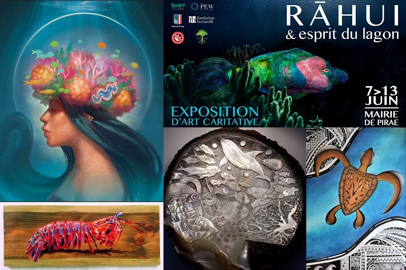 Quelques exemples des œuvres exposées. Celles-ci ont été réalisées par Christopher Daniel, Killian Ekouma, Eric Raffis et Donatien Jumel