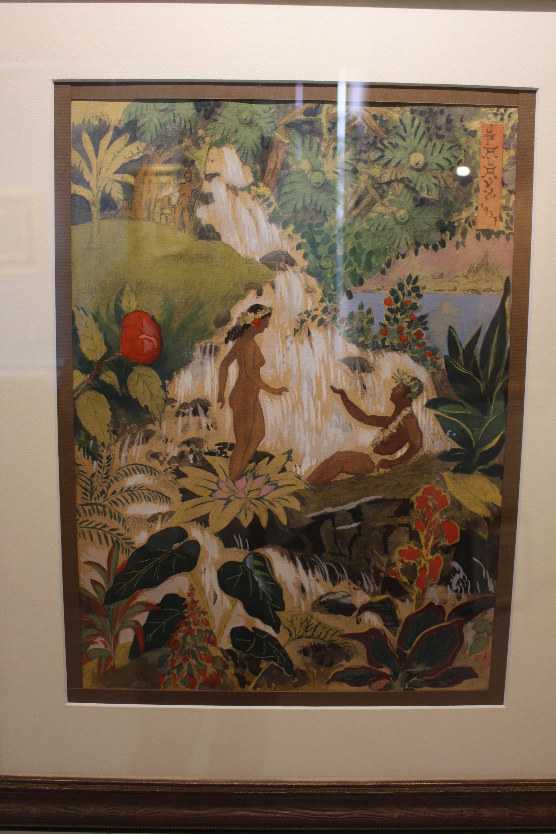 La galerie Au Chevalet expose des peintres de 1920 à 1990