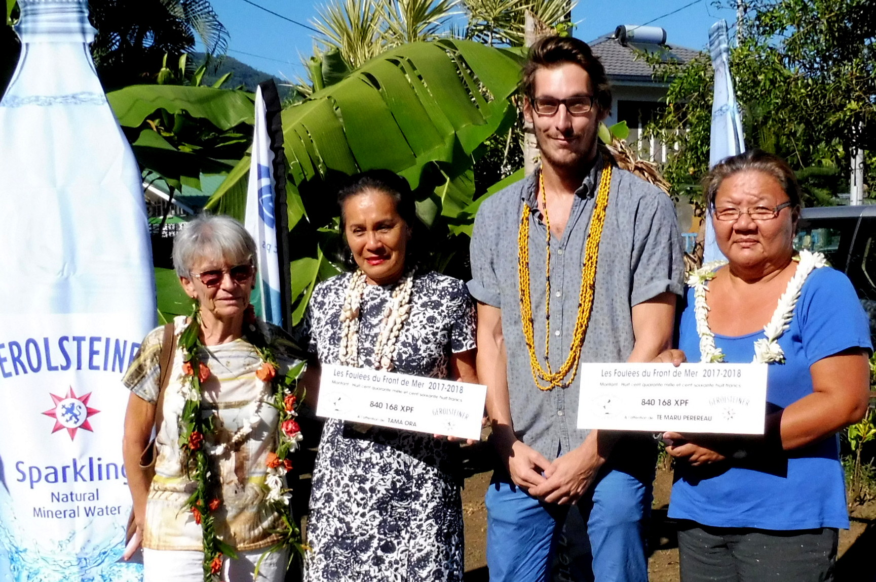 Les Foulées du front de mer : deux associations ont reçu leur chèque