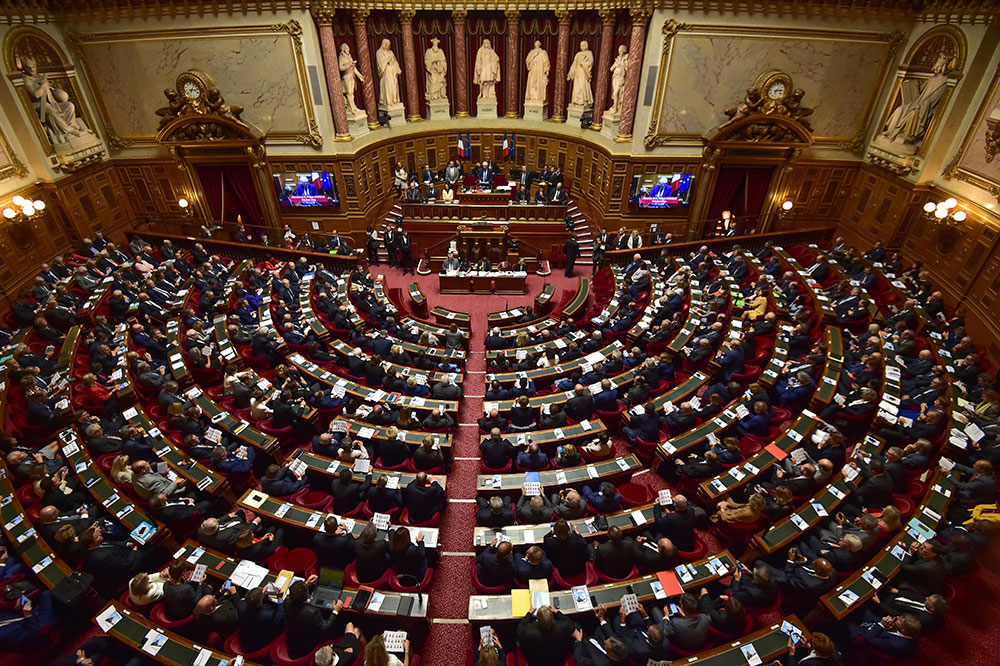 Sénat: l'allongement des délais de l'IVG voté dans un hémicycle dégarni
