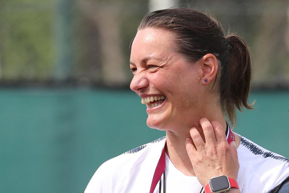 """Mondial-2019: quand Corinne Diacre, la """"Mère fouettarde"""" des Bleues, fait son """"one woman show"""""""