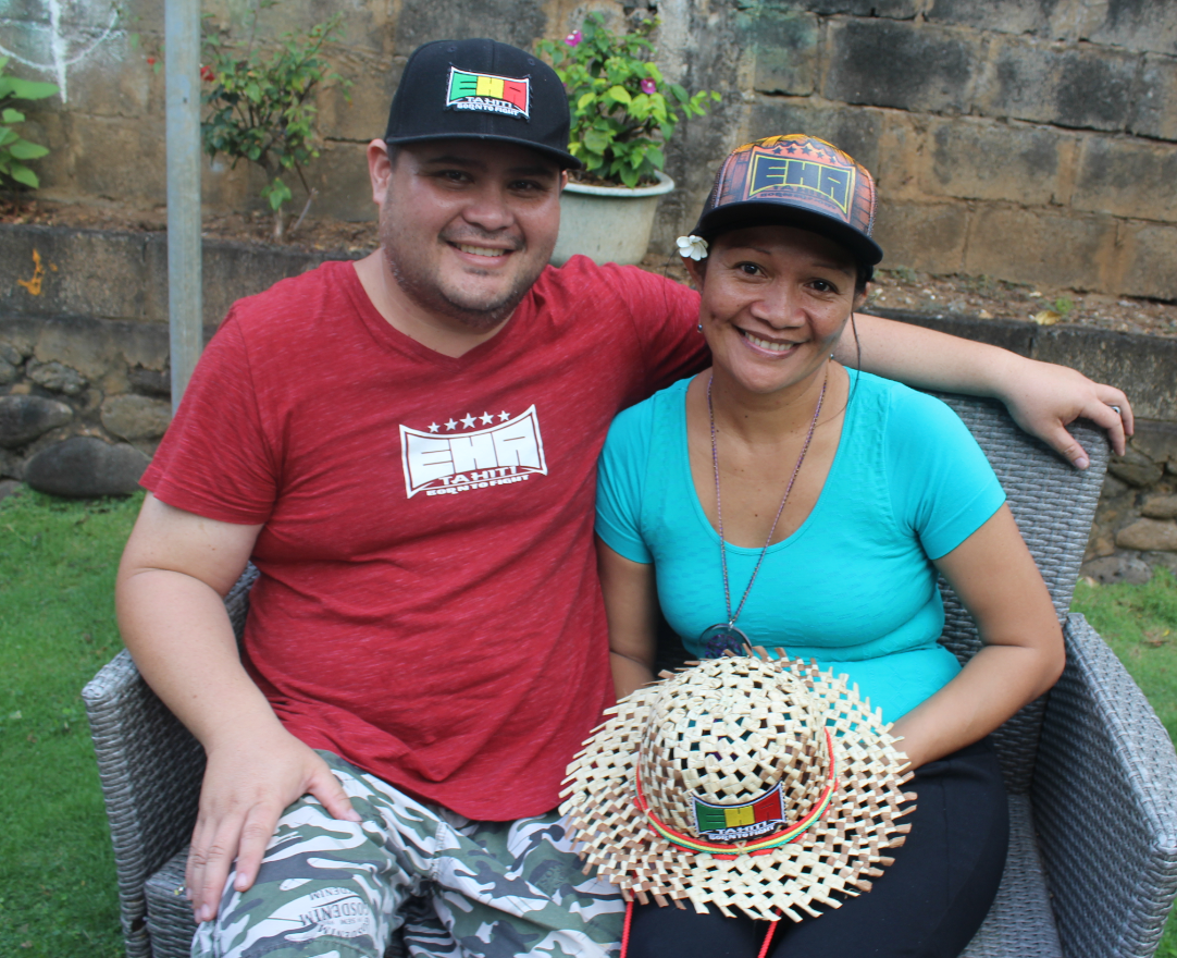 Maite Teriifemoehaa et Moana Rurua ont créé EHA Tahiti.