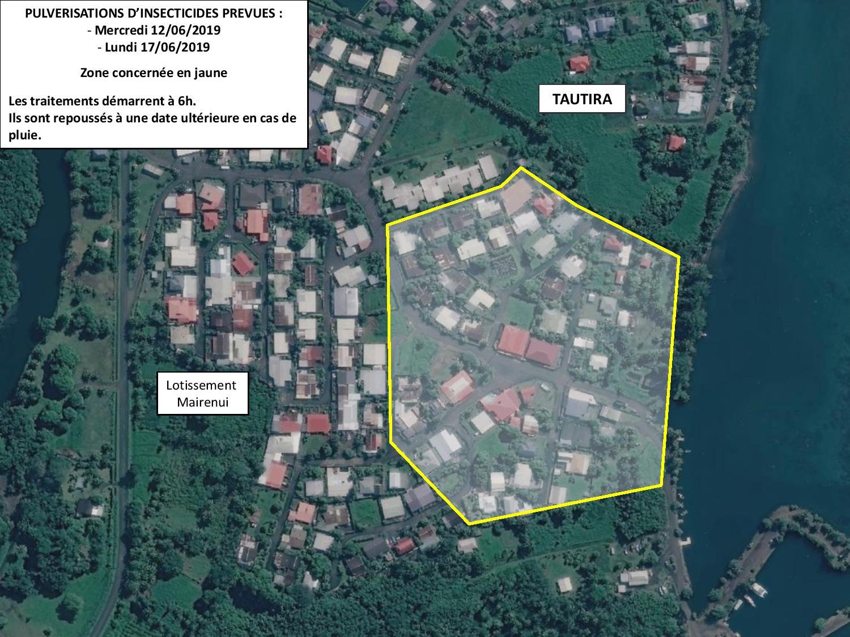 Dengue 2 : les pulvérisations commencent ce mercredi à Tautira