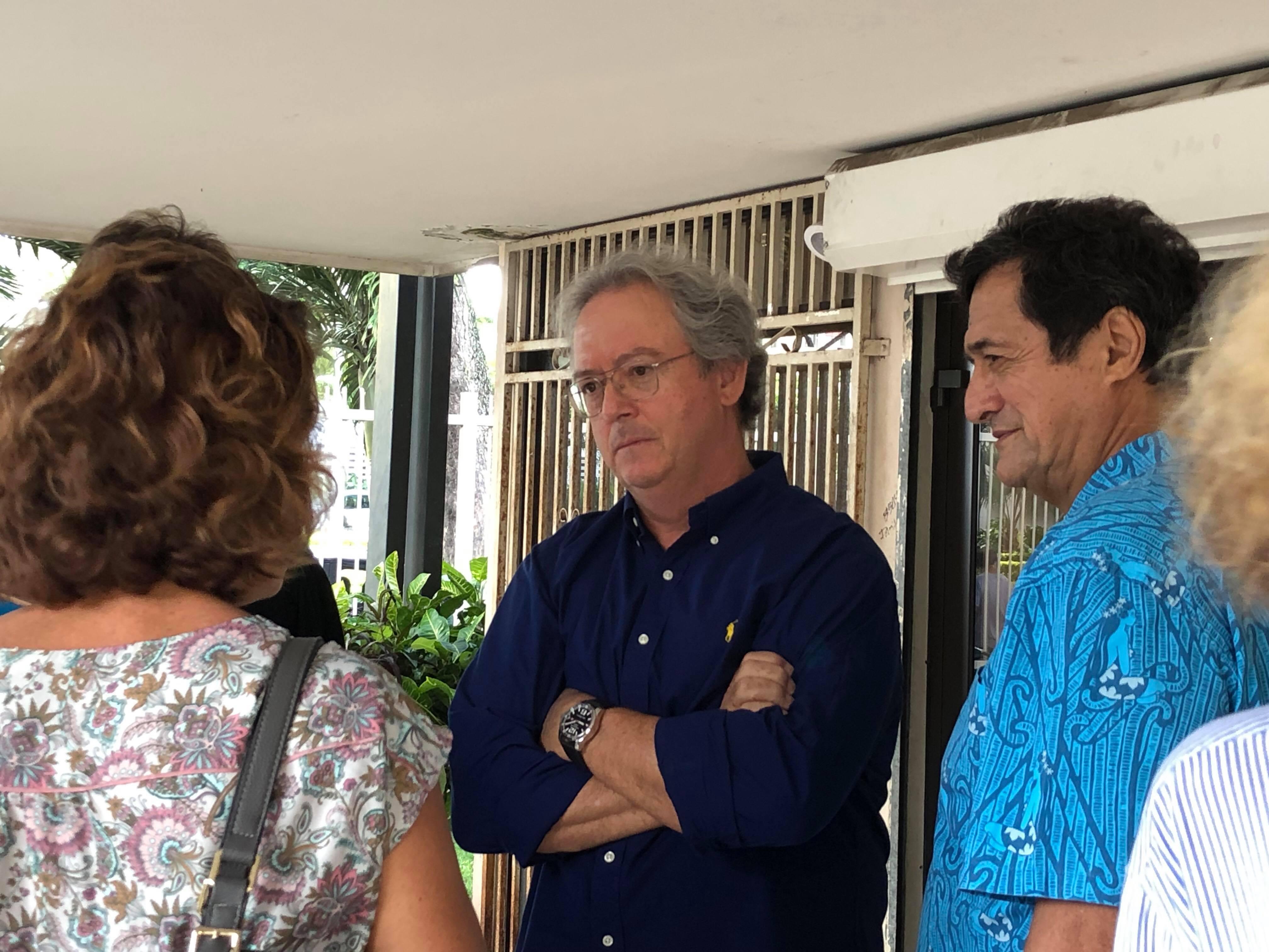 Gérald Prufer le 31 mai dernier au tribunal de Papeete.