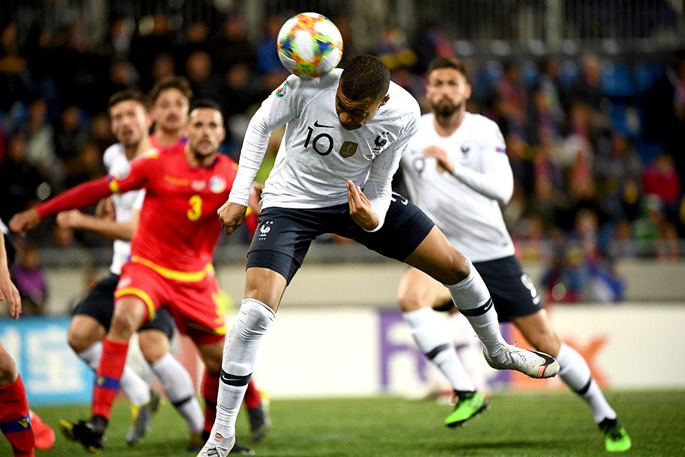 Qualif. Euro-2020: Les Bleus se vengent sur Andorre