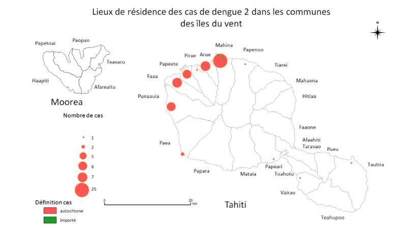 65 personnes touchées par la dengue 2 depuis le début de l'année