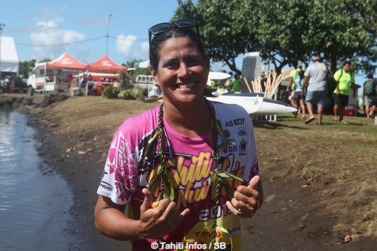 Hinatea Bernadino, une championne d'exception