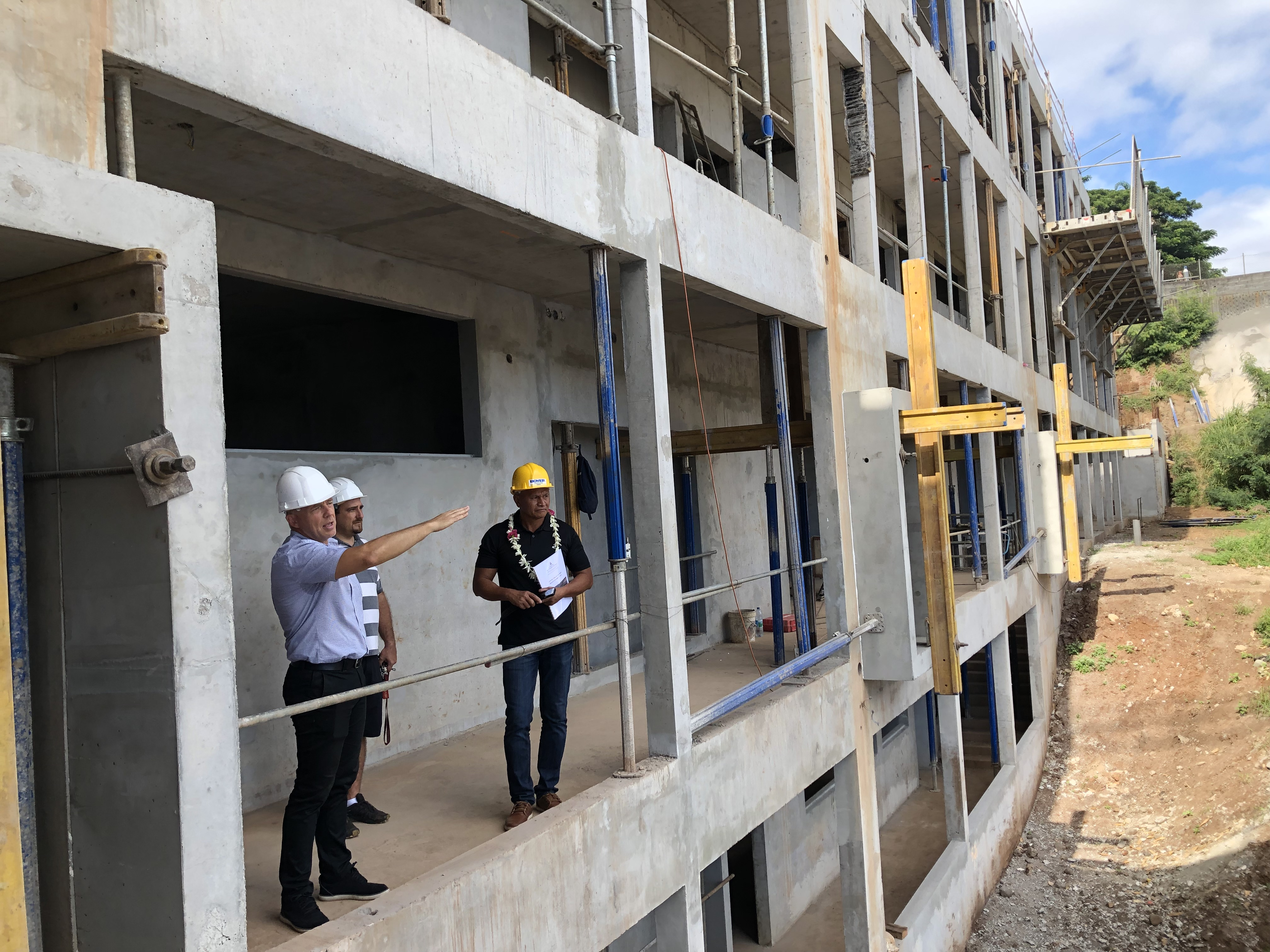 La construction de l'internat du LP de Faa'a devrait s'achever à la fin de l'année. Le batiment devrait être en mesure d'accueillir 228 élèves (36 collégiens et 192 lycéens).