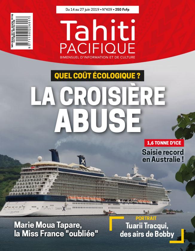À la Une de Tahiti Pacifique, vendredi 14 juin