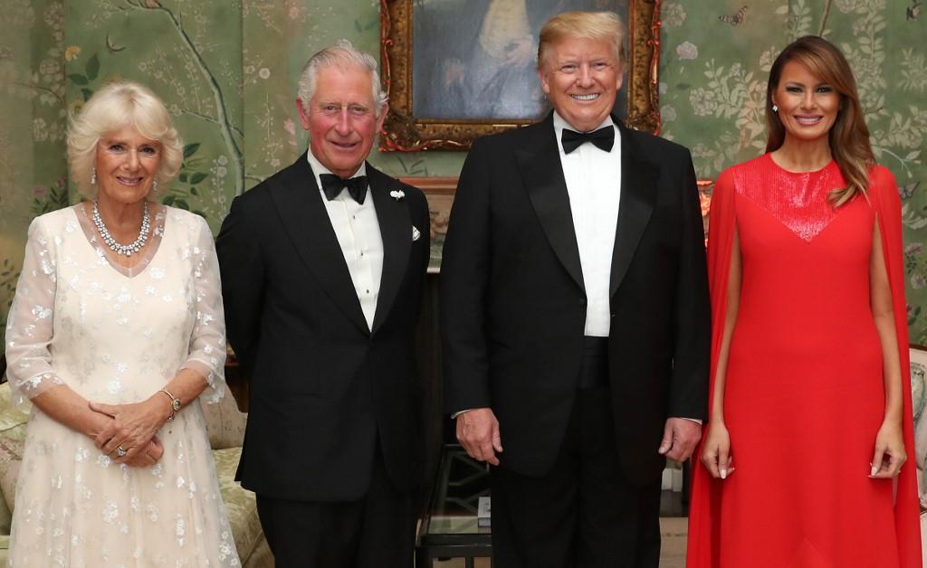 """Trump vante sa rencontre avec Charles, """"Prince des Baleines"""""""