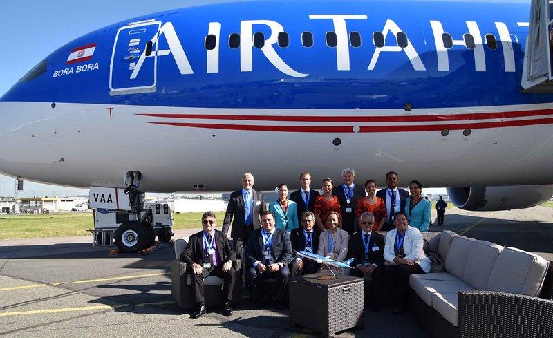 Le Dreamliner Bora Bora présenté au salon du Bourget