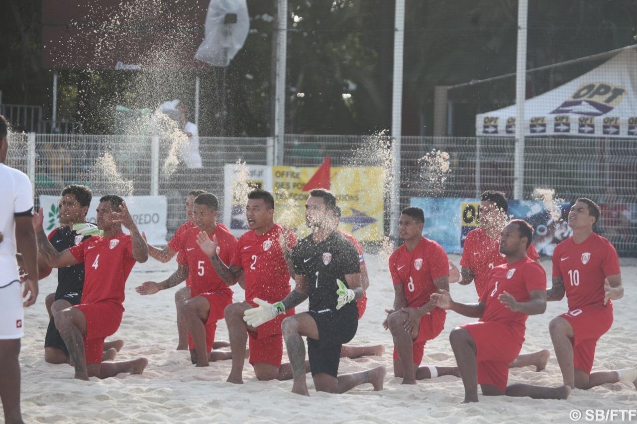 Véritable démonstration des Tiki Toa contre une équipe de Tonga qui débute dans la discipline