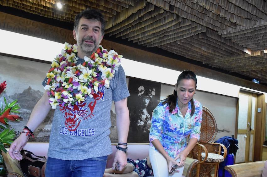 Stéphane Plaza au fenua pour animer la soirée Miss Tahiti 2019