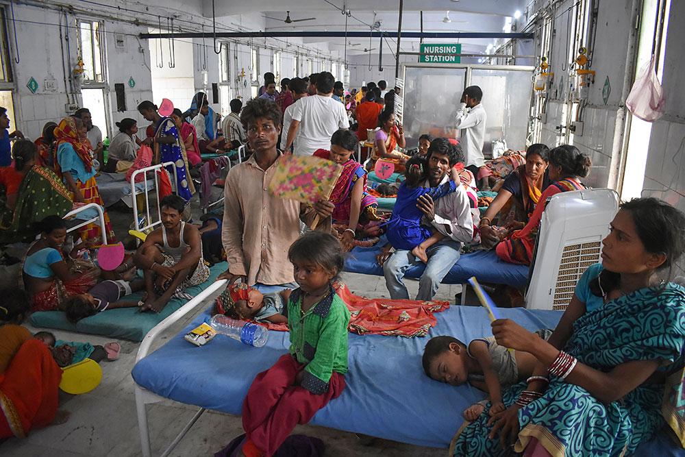 Une épidémie d'encéphalite mortelle sème la détresse dans le nord de l'Inde
