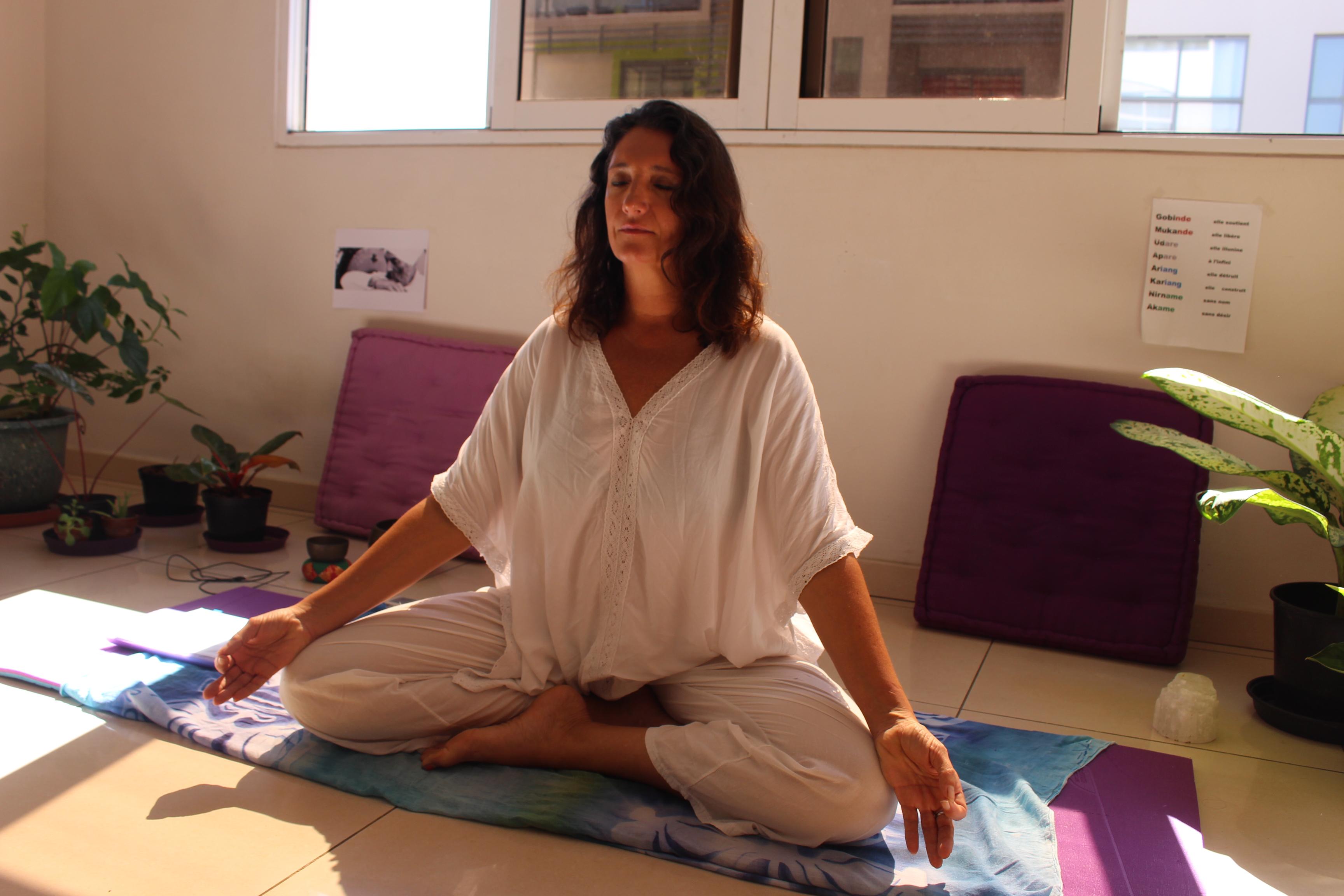 Une méditation collective pour la journée internationale du yoga