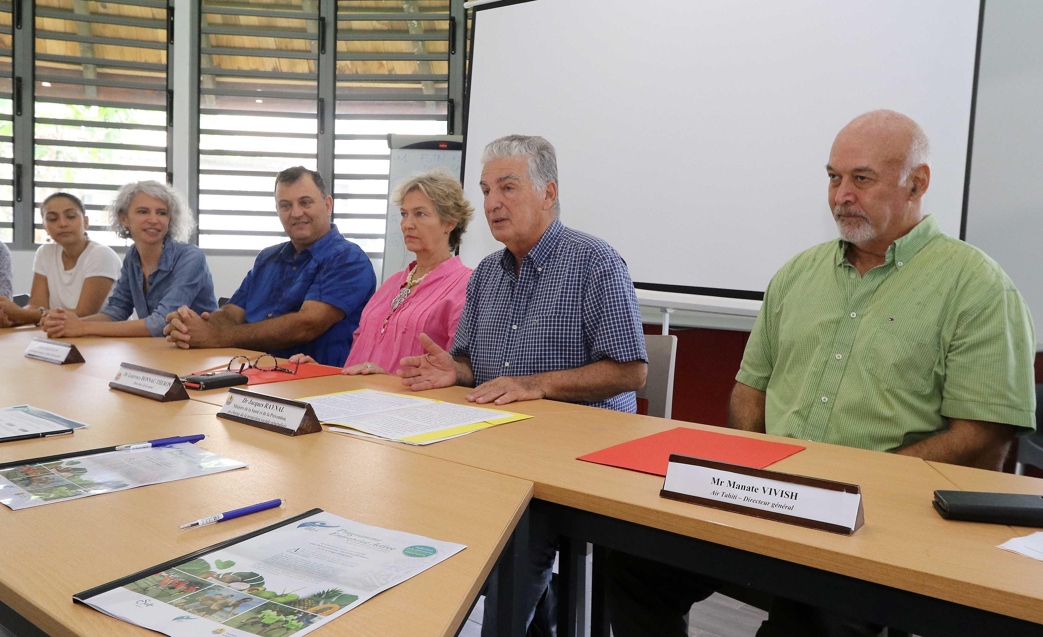 Air Tahiti, Pro Interim, Sopadep et IDT pensent à la santé de leurs salariés