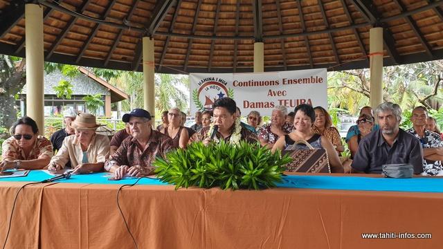 Damas Teuira a annoncé officiellement son intention de se présenter aux prochaines municipales.