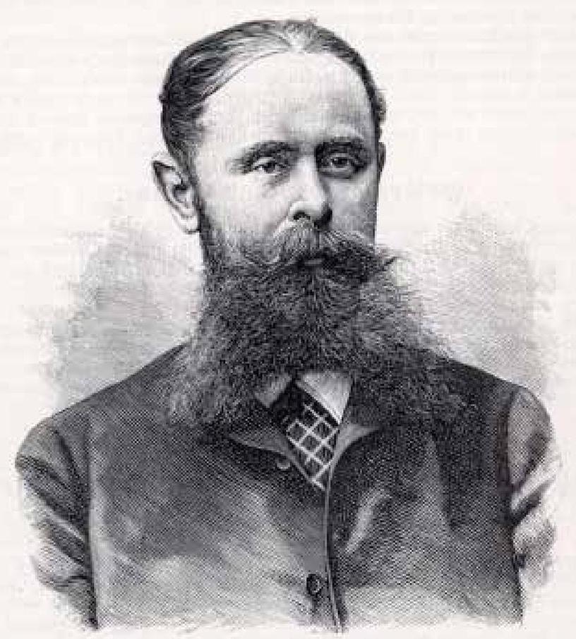 Karl von den Steinen alors au sommet de sa gloire. Il a à peine plus de quarante ans et son travail au Brésil l'a rendu célèbre.