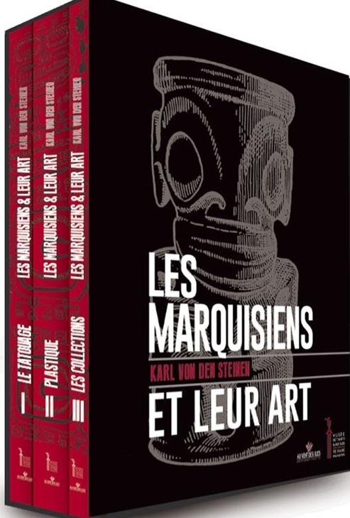 Les trois tomes de von den Steinen, réédités par «Au vent des îles» et le Musée de Tahiti et des îles, des ouvrages incontournables pour qui s'intéresse aux Marquises.