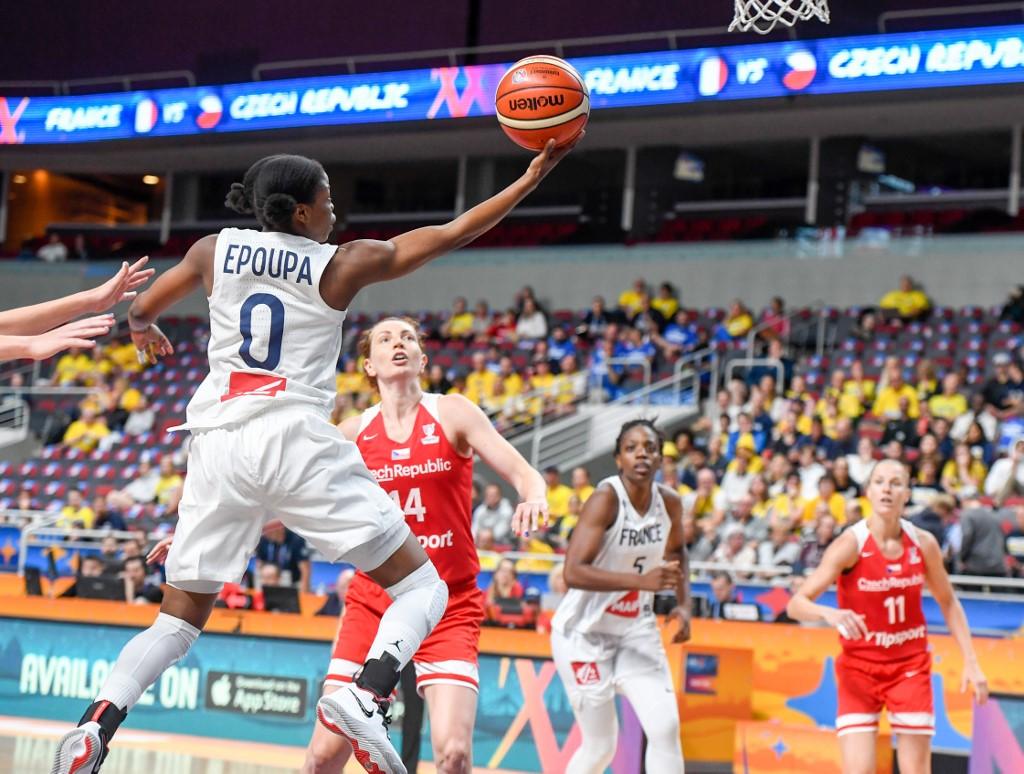 Euro de basket: les Françaises commencent par une victoire