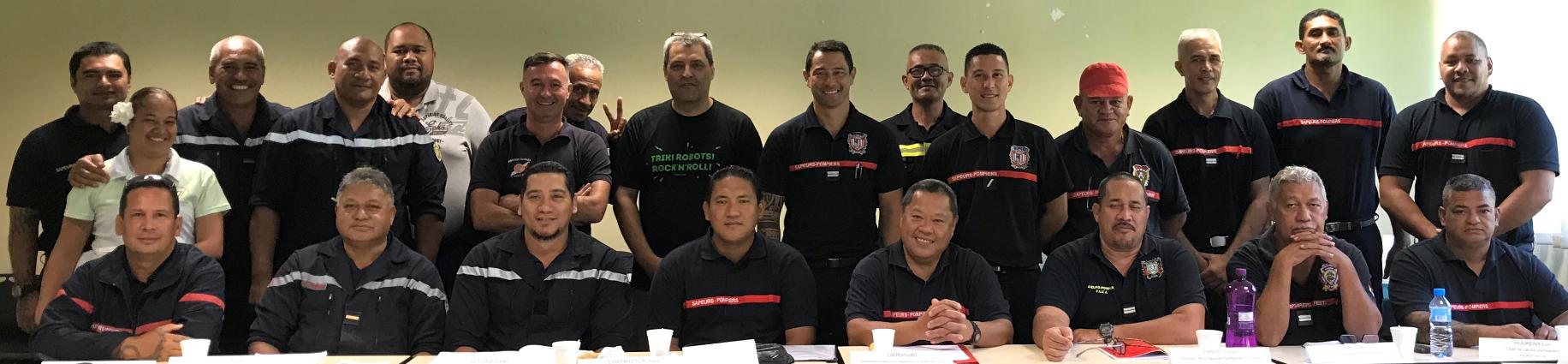 Les 24 chefs de corps de Polynésie sont désormais associés à la plate-forme de formation en ligne Enasis, créée et animée par les pompiers d'une cinquantaine de départements métropolitains.