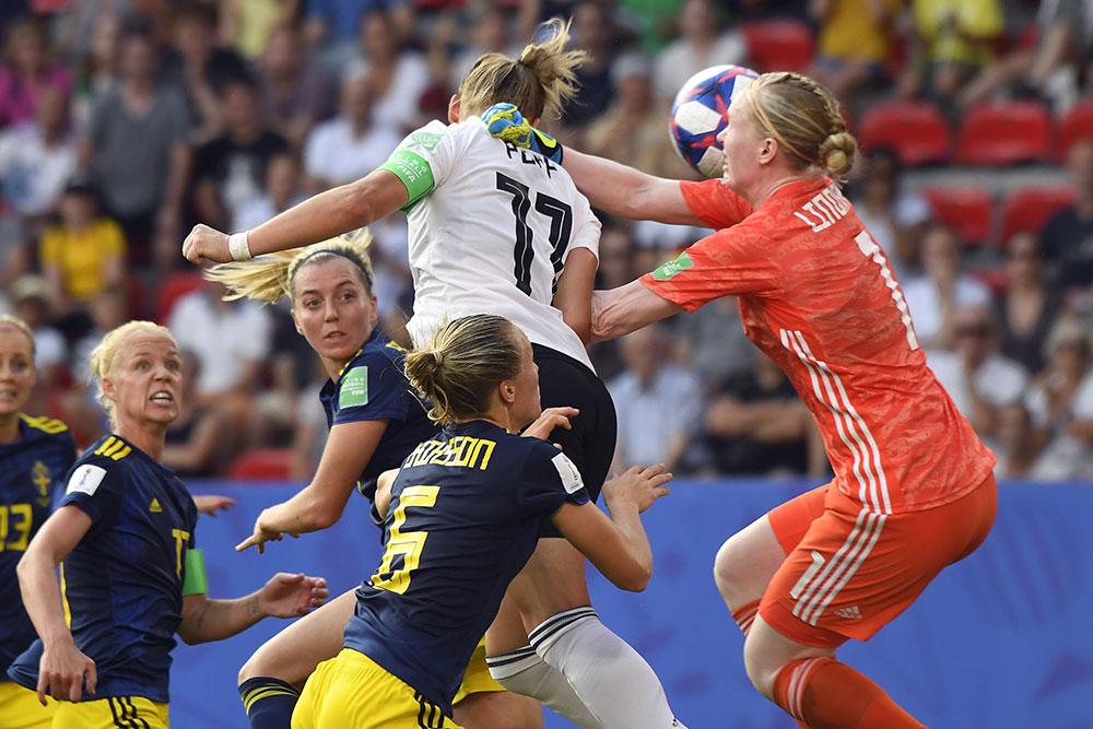 Mondial-2019: la Suède boute l'Allemagne hors du dernier carré