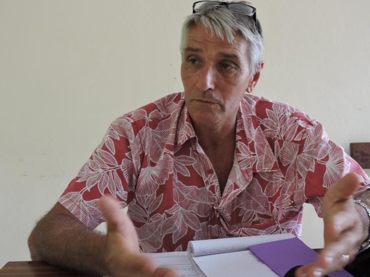 Philippe Couraud, chef du service de l'Agriculture.