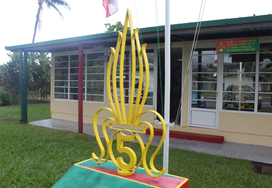 52 Polynésiens engagés dans la Légion étrangère depuis 18 mois
