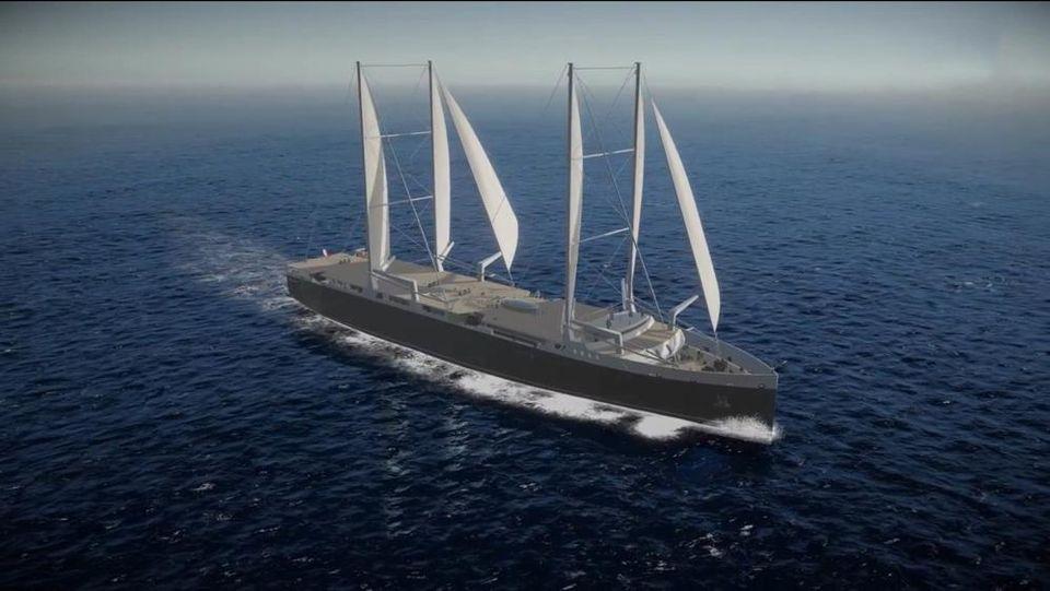 Nantes Deux Cargos A Voile Construits D Ici 2021