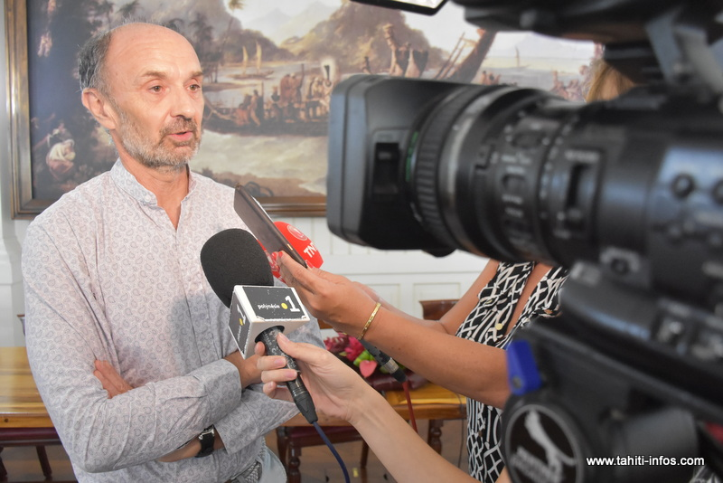 Laurent Pasco, directeur par intérim du service de biosécurité.