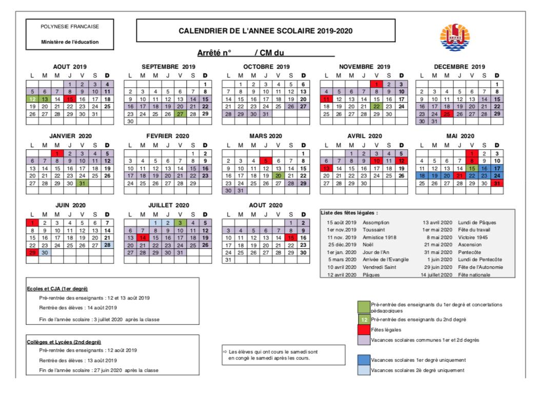 Calendrier Annee Scolaire 201918.Les Vacances De Mai 2020 Supprimees Dans Les Colleges Et Lycees