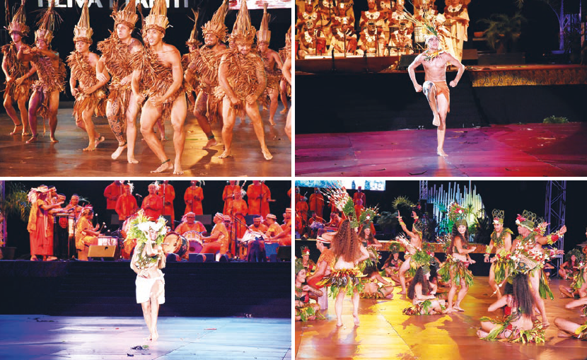 'Aparima 'āmui, 'ōte'a 'āmui, pā'ō'ā et hivināu, les danses obligatoires