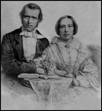 Ce double portrait serait celui de George et d'Ellen Gordon.