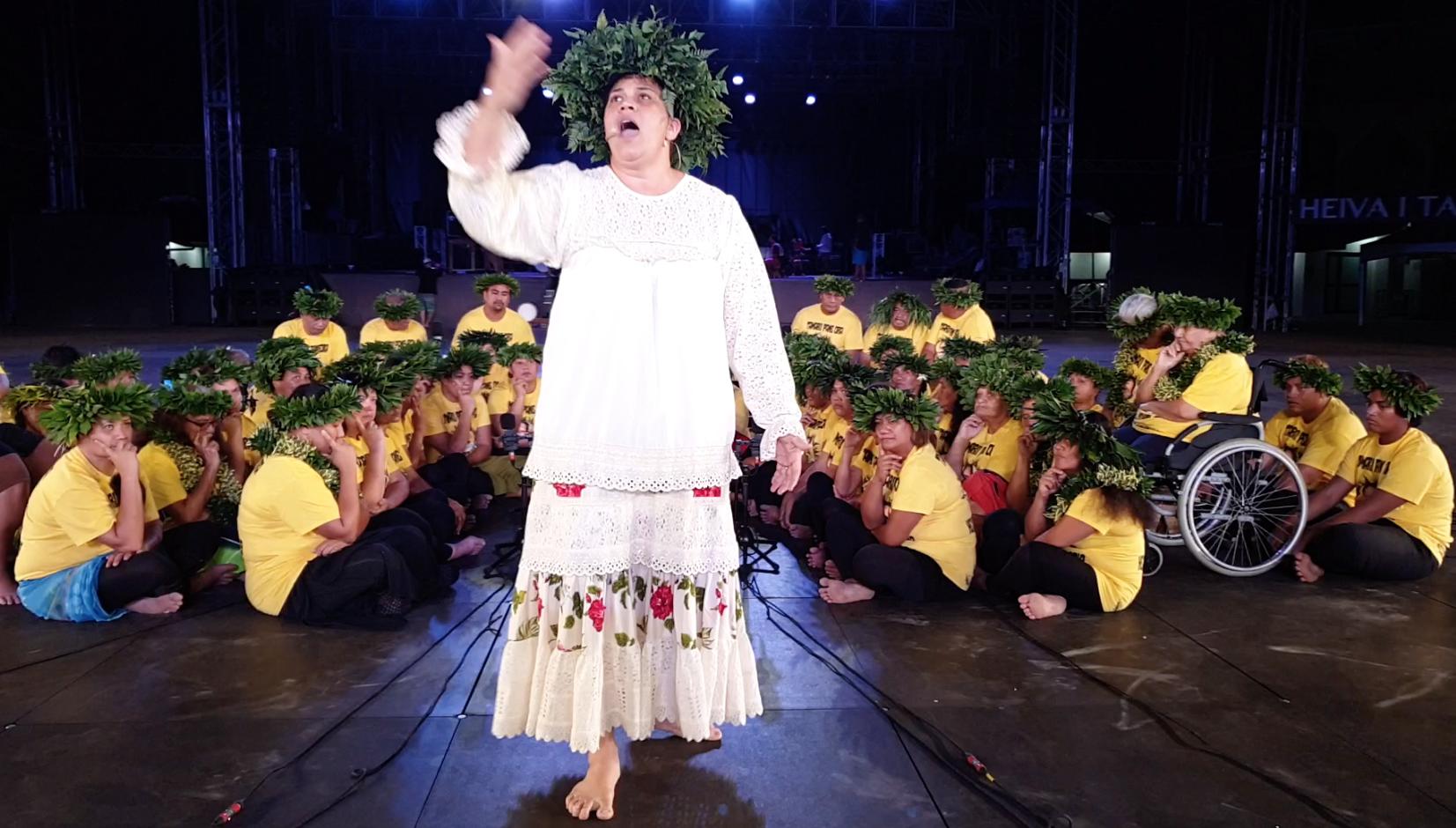 Tamari'i Pane Ora rend hommage Morohi Vahine
