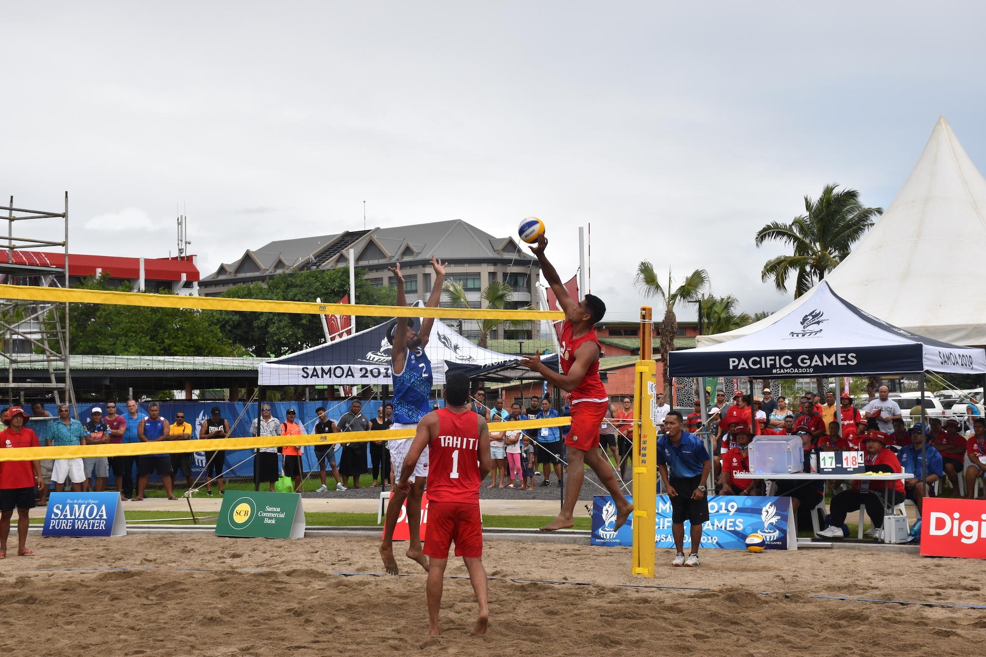 Terau Ena et Jérémie Paraue, du club de Pirae, est la paire retenue pour les Jeux du Pacifique.