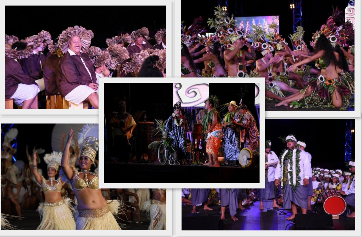 Retour en images sur la soirée du 6 juillet du Heiva i Tahiti
