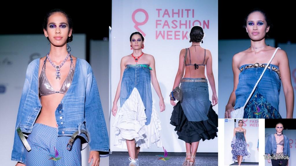 Ces pièces ont fait sensation lors du défilé de la Tahiti Fashion Week dans les jardins de l'Assemblée, le 12 juin dernier.